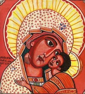 Ícone etíope