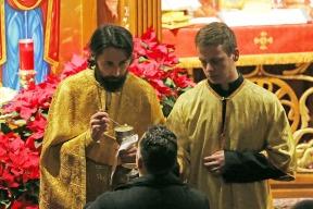 Comunhão no rito bizantino