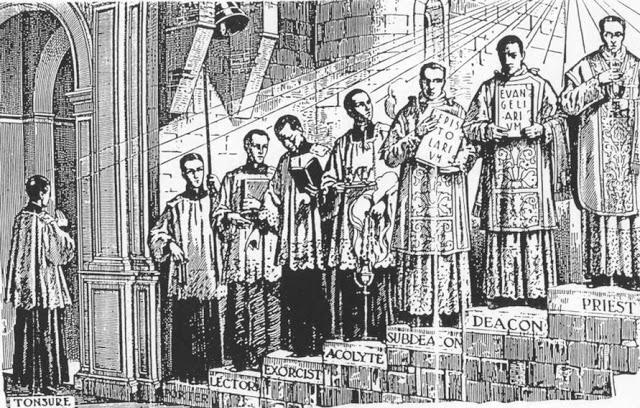 ordens eclesiásticas